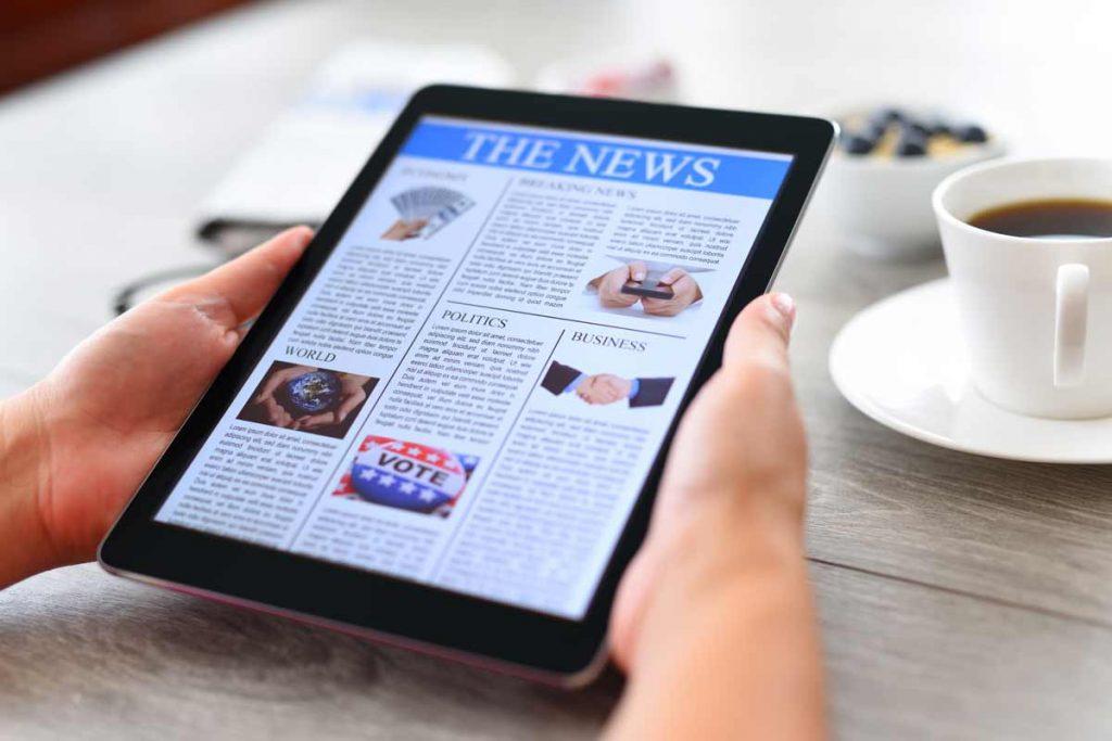 Online News – A New Trend
